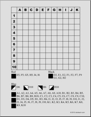Grid Coloring Games I abcteach provides over 49,000