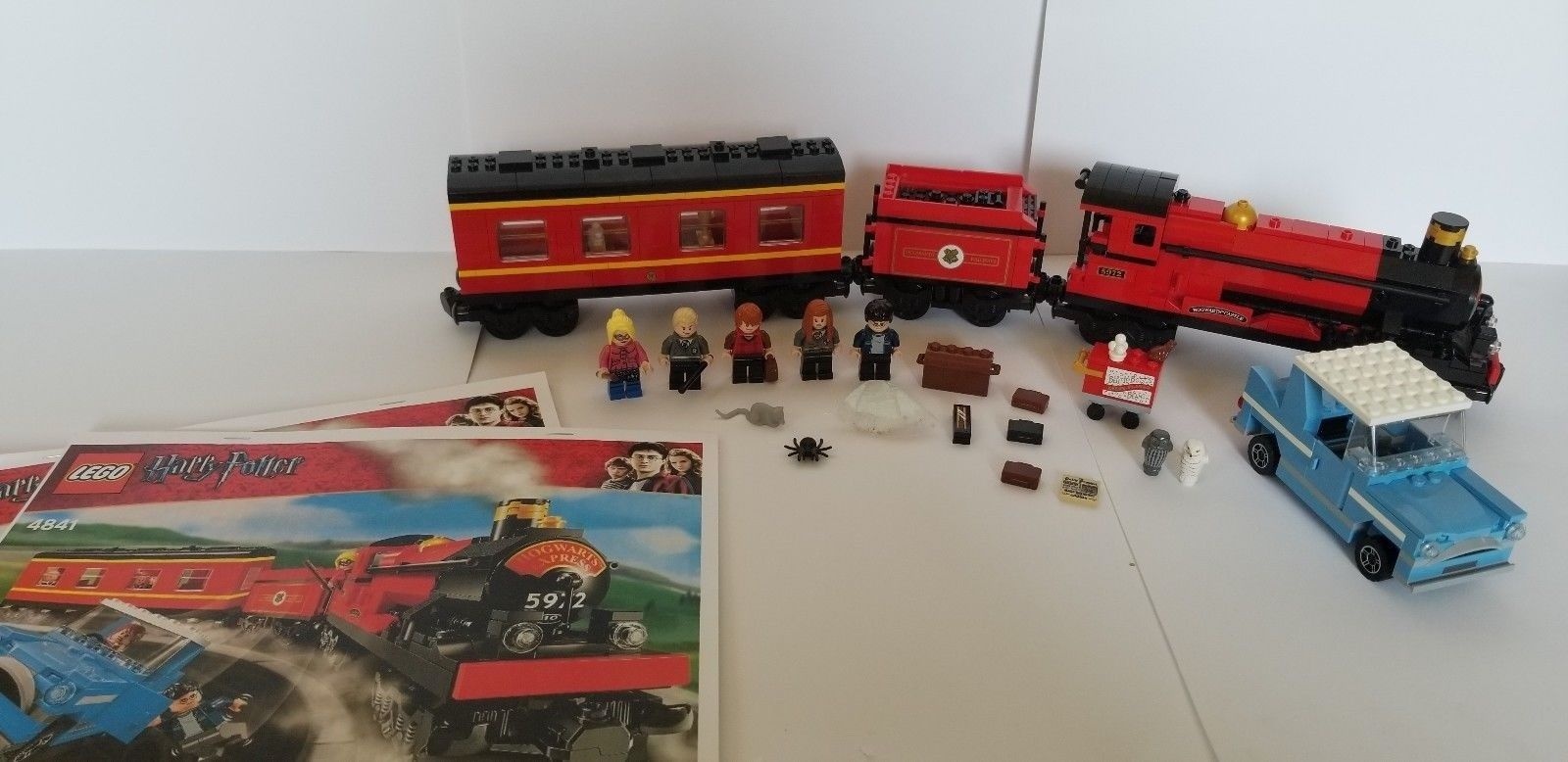 Harry Potter Hogwarts Express Lego 4841 Near Complete Box And
