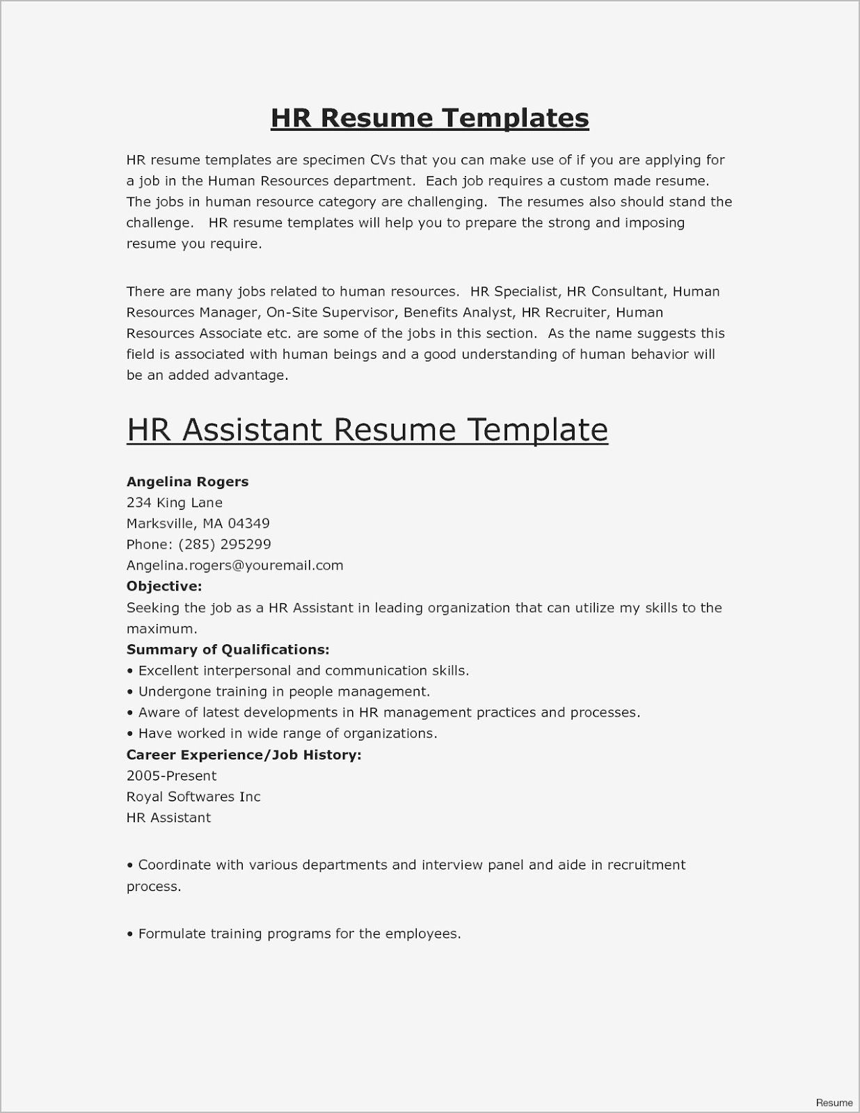 simple resumes examples examples of basic resumes for jobs