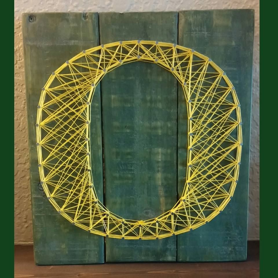 U of O String Art Sign. University of Oregon, #Ducks ...