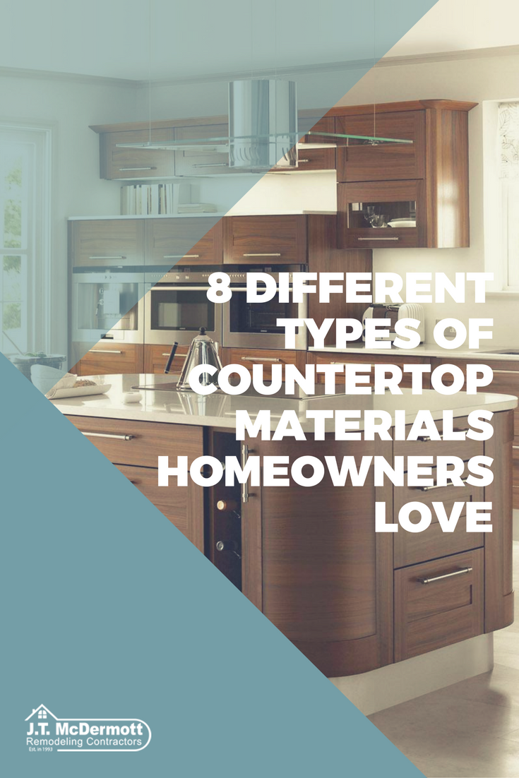 A new post is up! 8 Different Types of Countertop Materials ...