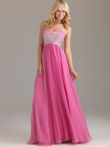 d4bae2d7170 2012 Style A-line Sweetheart Rhinestone Sleeveless Floor-length Chiffon  Prom Dress   Evening Dress  144.99