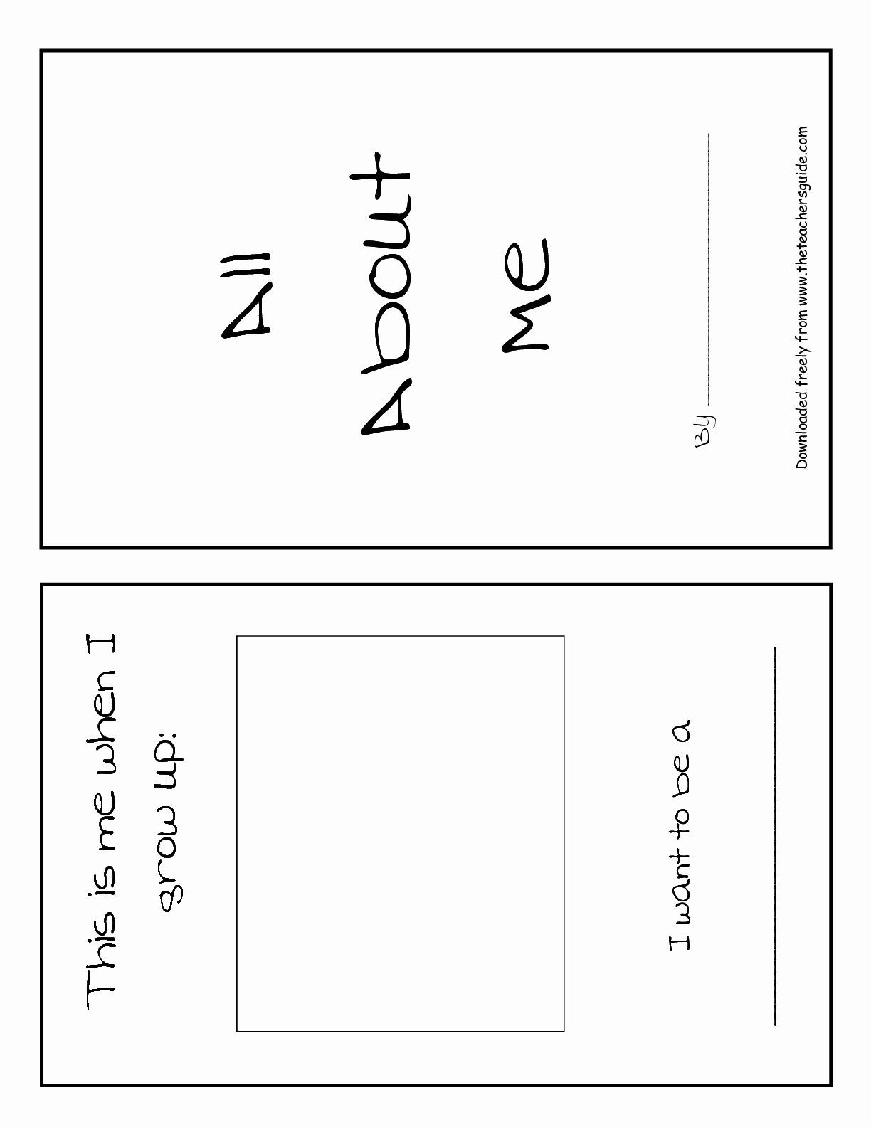 hight resolution of All About Me Printable Worksheet Fresh the Frogs and the Flutterbyes All  About Me Free Printable – Chessm… in 2020   Free math worksheets