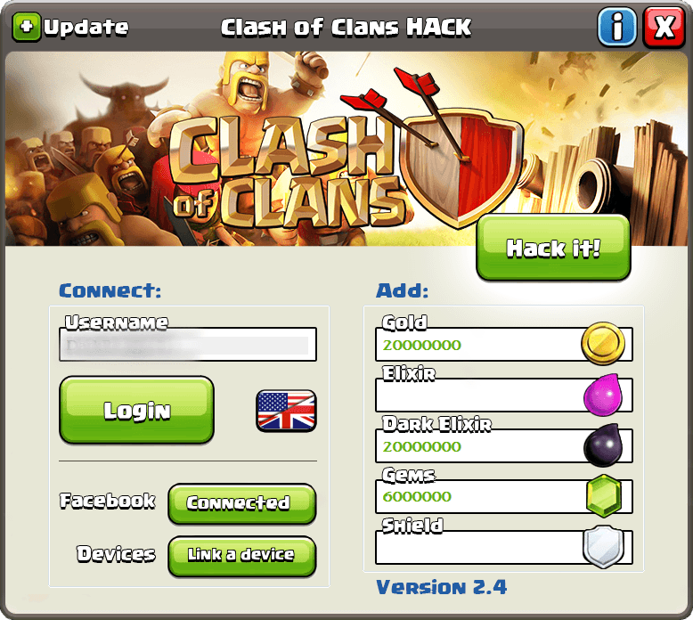 clash of clans hack tool download
