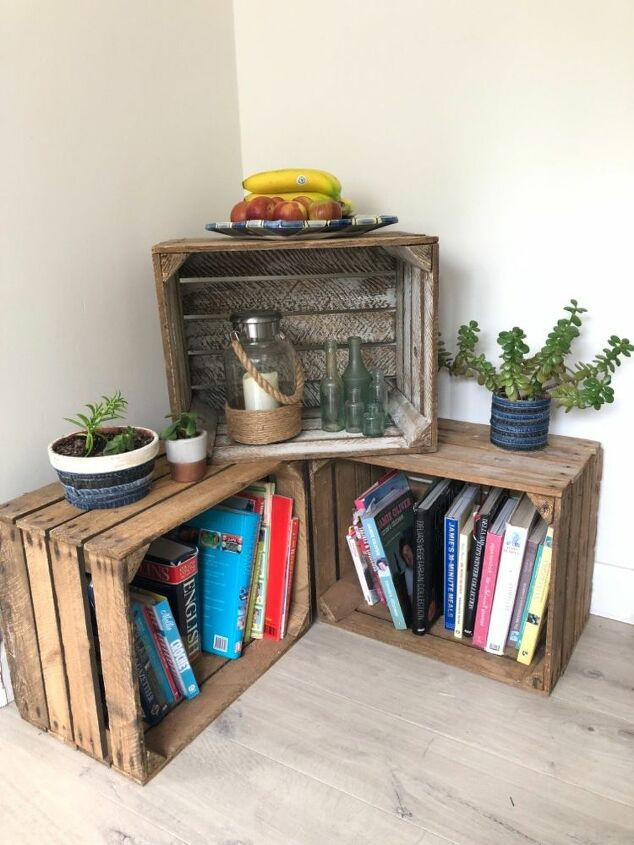 Photo of How to Make Apple Crates as Storage DIY