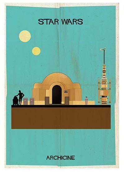 Star Wars Poster by Federico Babina | MONOQI #bestofdesign