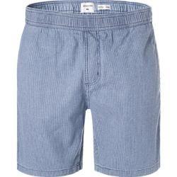 Photo of Quiksilver men's shorts, cotton blue striped Quiksilver
