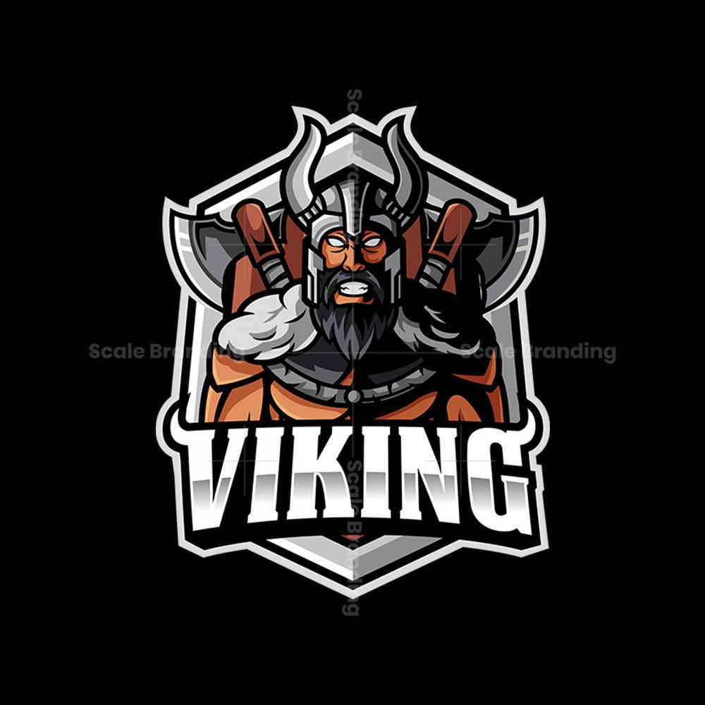 Get This Viking Logo Design At Scalebranding Exclusive Product Instant Download Png And Vector Files Viking Logo Sports Logo Inspiration Vikings