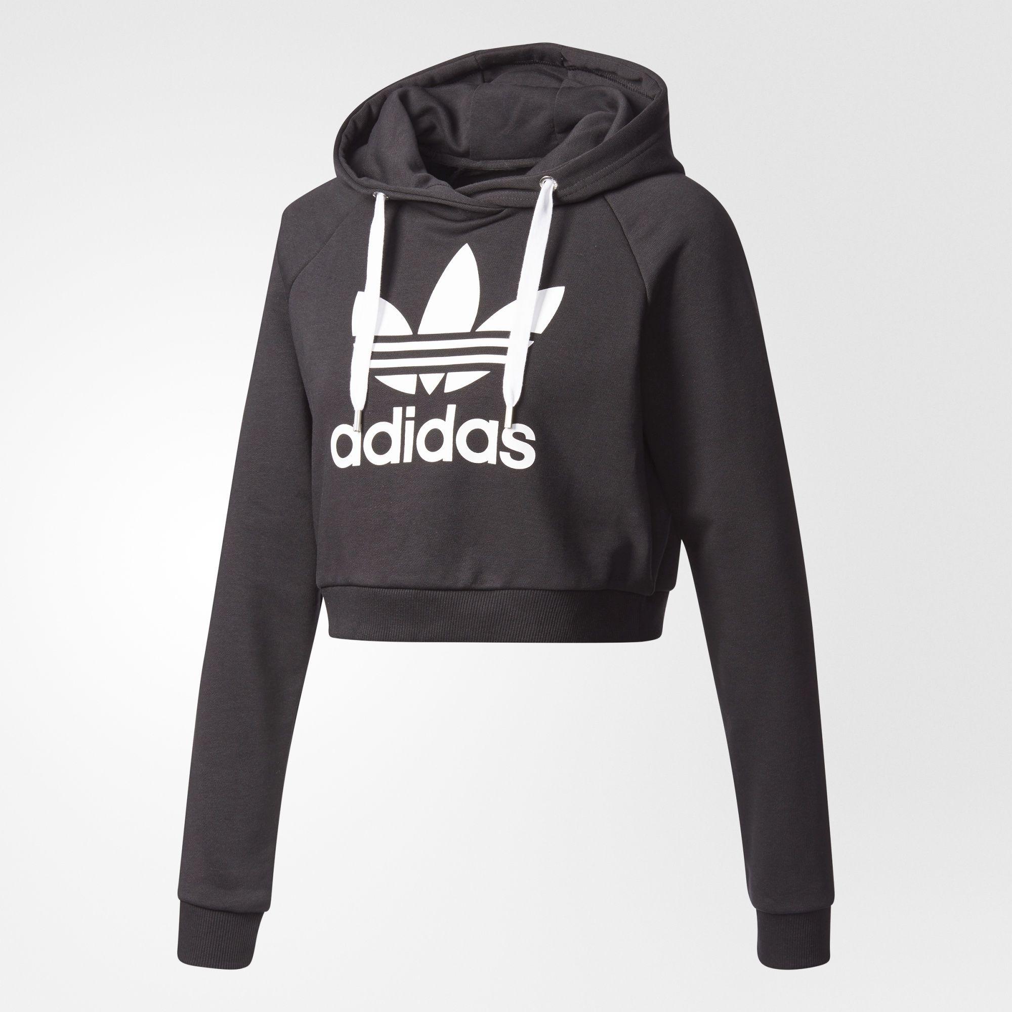 Adidas trifoglio raccolto felpa caduta 18 pinterest nero adidas