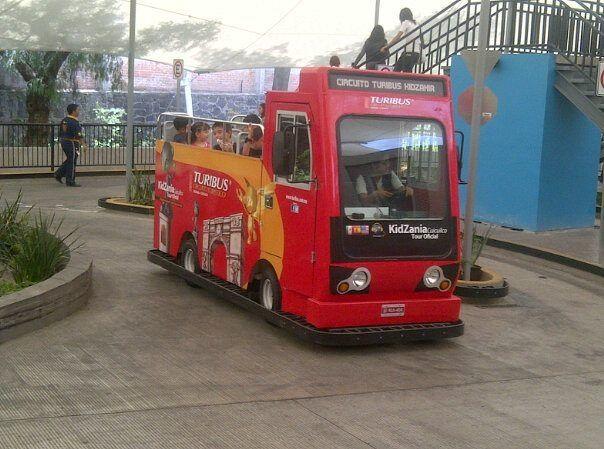 Minituribus de Kidzania