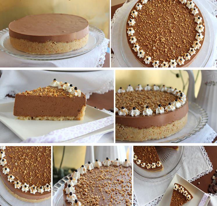 gateau au chocolat et au noix de macadamia2 | gâteaux | pinterest