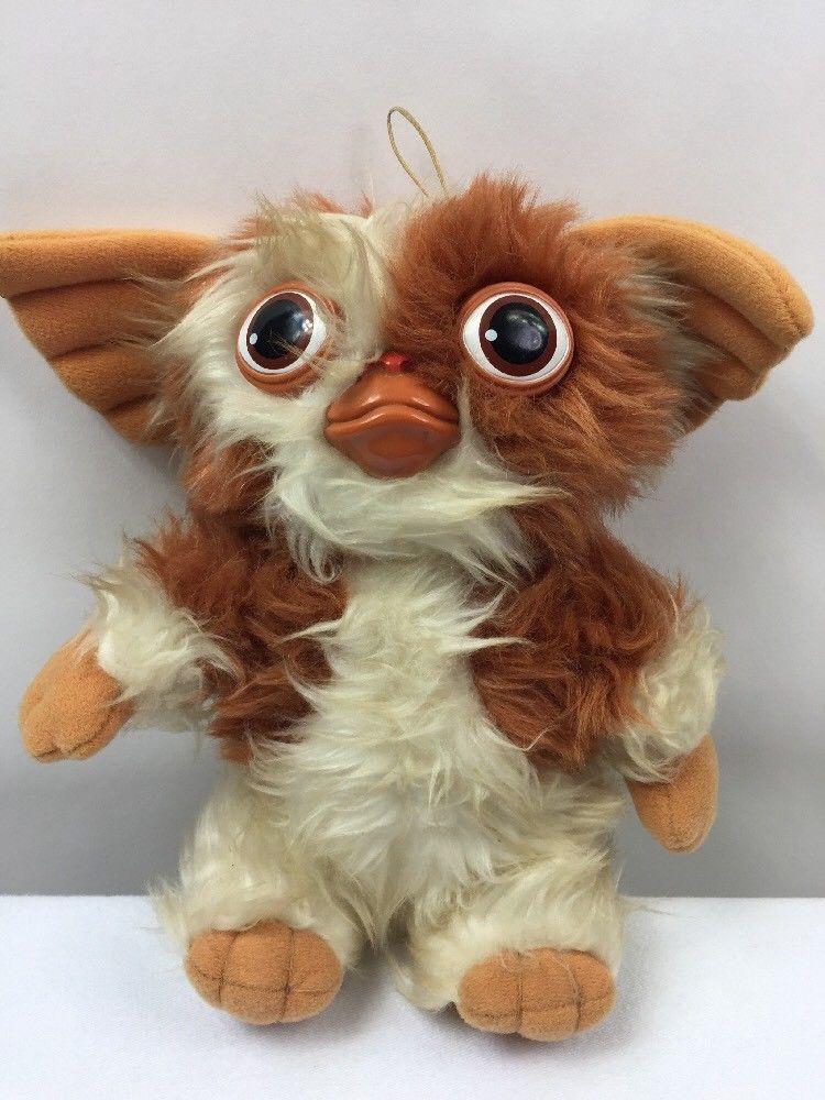 Hasbro Softies Gizmo Gremlins Plush Stuffed Animal Mogwai Vintage