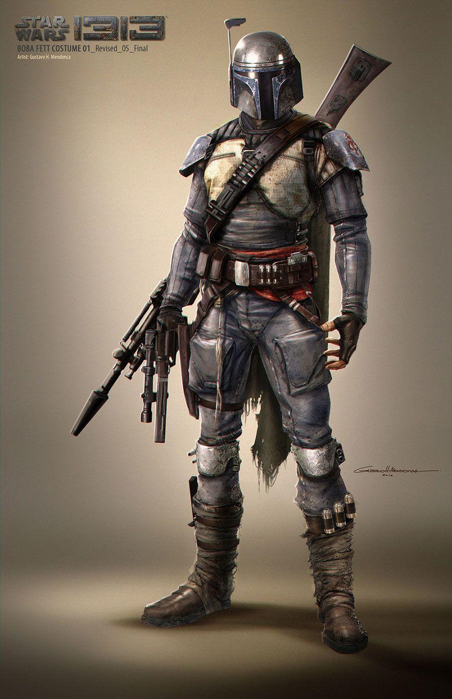 Boba Fett Costume - Characters & Art - Star Wars 1313 | Star wars 1313,  Star wars pictures, Star wars characters