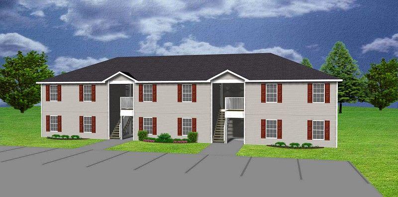 6 Unit Apartment Plan Multi Family J0418 11