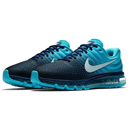 Nike Baskets Air Max 2017 849559 404 Binary Blue Glacier