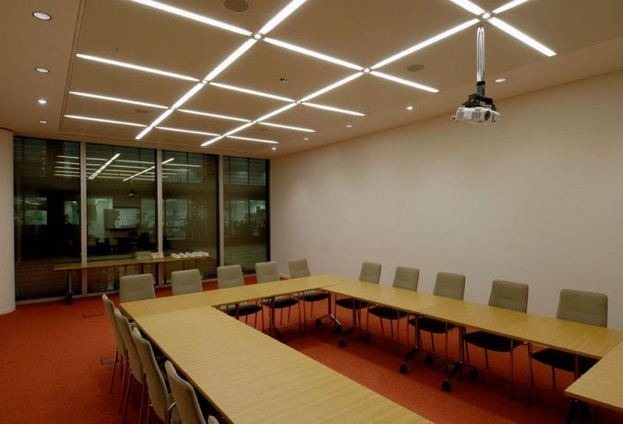 Lighting Design for offices at More London by Paul Nulty Office