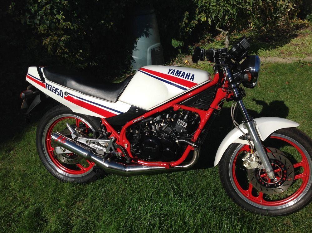 eBay: 1990 Yamaha RD350 YPVS low miles with original parts