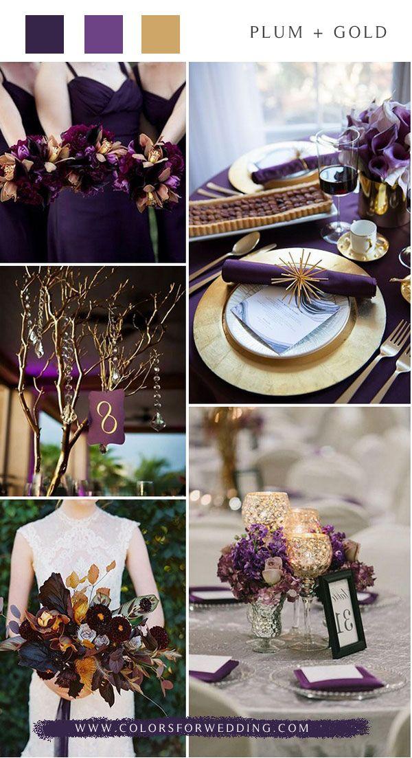 Top 5 Purple Wedding Color Combos