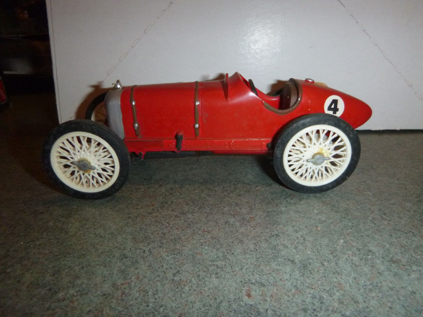 Rare Old Built Indy Oldfield Body Model Part Kit Vintage Toy Rat Rod ...