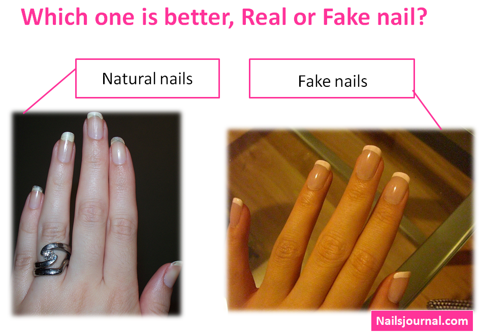 Real or Fake nails? | Nails | Pinterest
