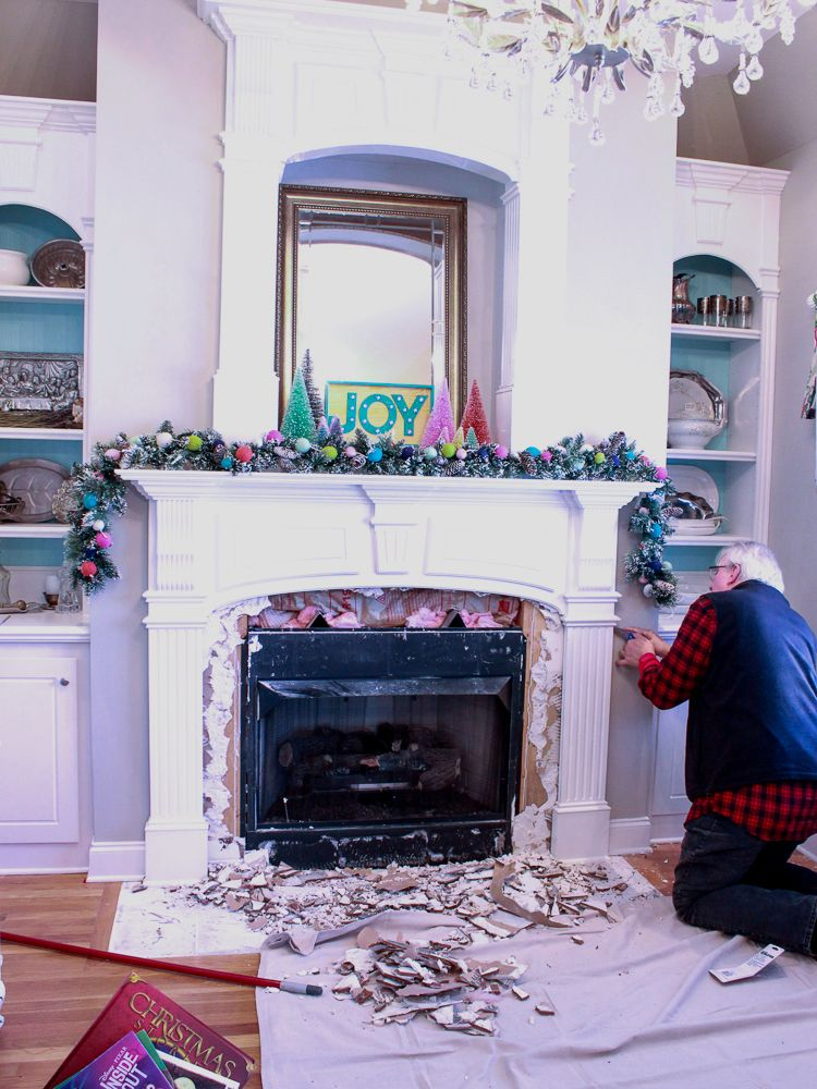 How To Remove Fireplace Tiles Fireplace Tile Fireplace