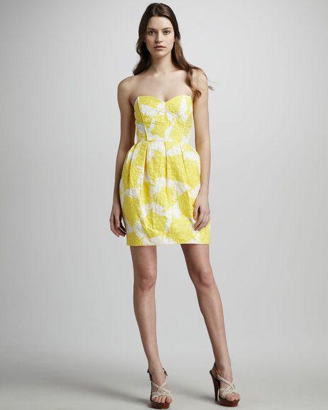 shoshanna-citron-jane-pentagon-print-dress-product-1-3882513-903962237_large_flex.jpeg 460×575 pixels