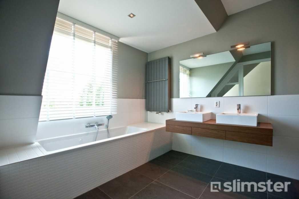 Moderne Strakke Badkamer : Aanbouw badkamer laten plaatsen moderne en strakke badkamer