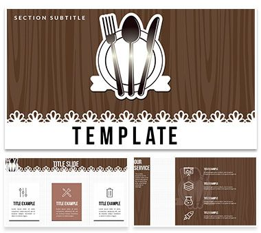 restaurant menu recipes powerpoint templates | powerpoint, Powerpoint templates