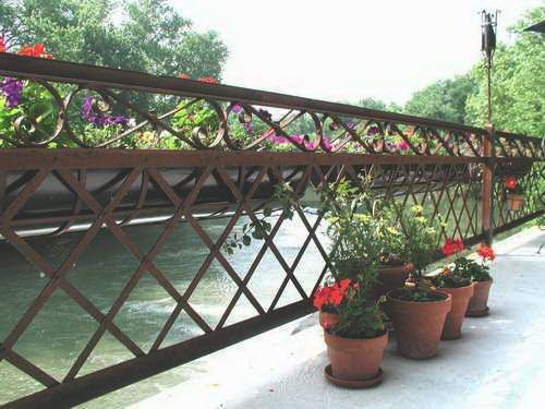 Wrought Iron Fencing Panels From The Historic Mckinley Bridge In