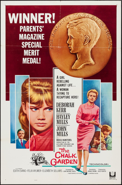 e66e4bc6f69b1 The Chalk Garden (1964) Stars: Deborah Kerr, Hayley Mills, John ...