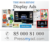 The Hindu is an Hyderabad English-language Indian daily newspaper