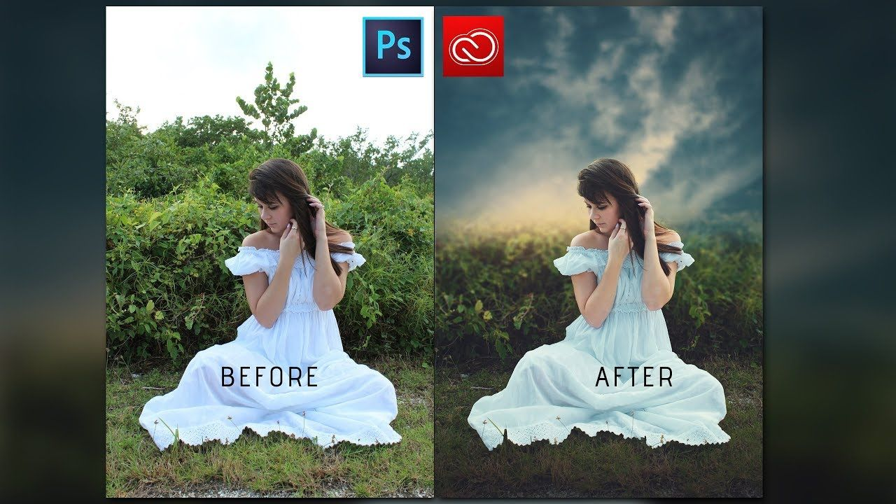 Photoshop cc tutorial sunset effect photoshop how to edit photoshop cc tutorial sunset effect photoshop how to edit outdoor portrait youtube baditri Images