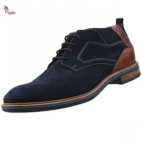 bugatti 311300321400, Desert boots homme - bleu - Bleu foncé, - Chaussures  bugatti (