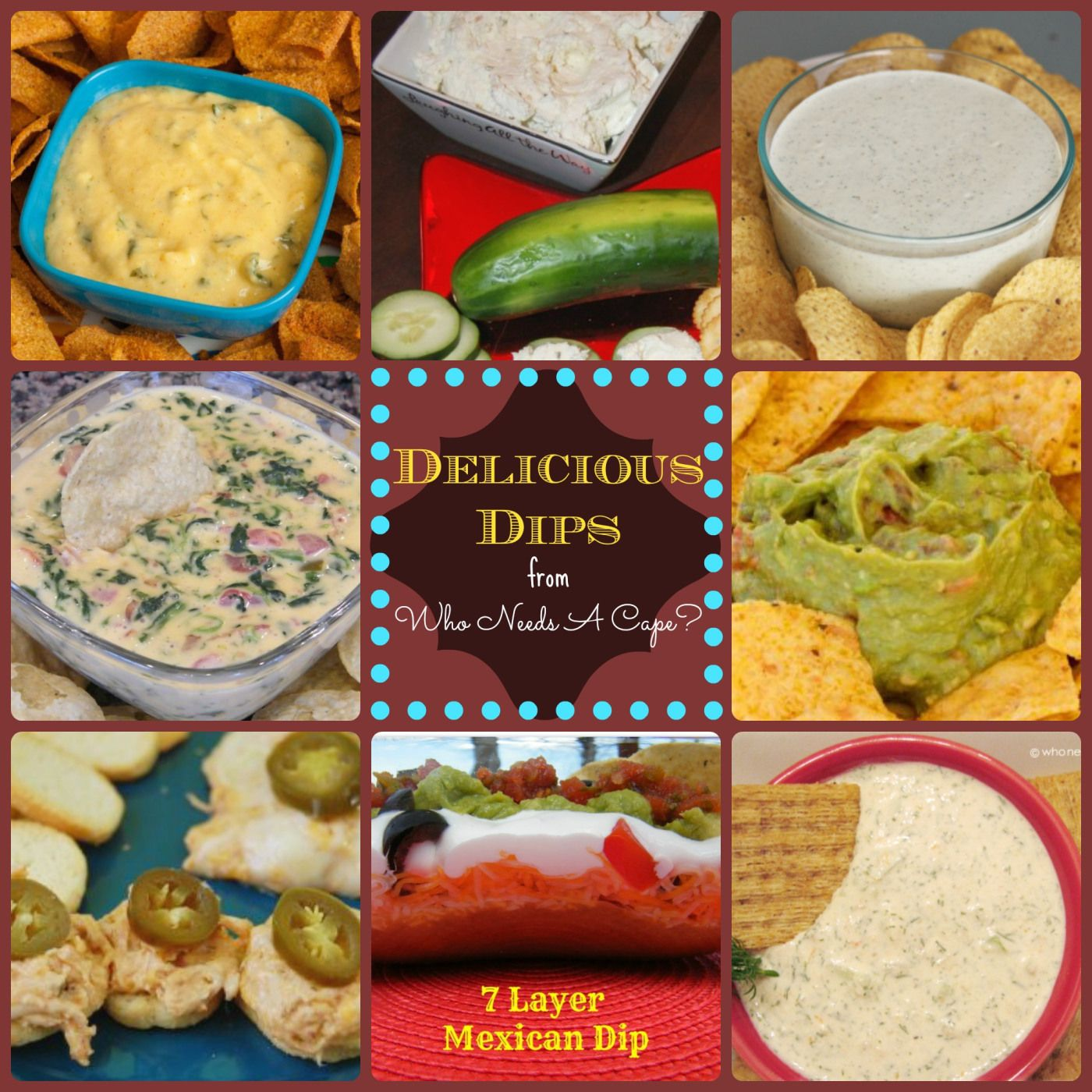 Delicious Dips -  a must pin - lot of these are simple simple but SO good! (and there is hot and cold!)