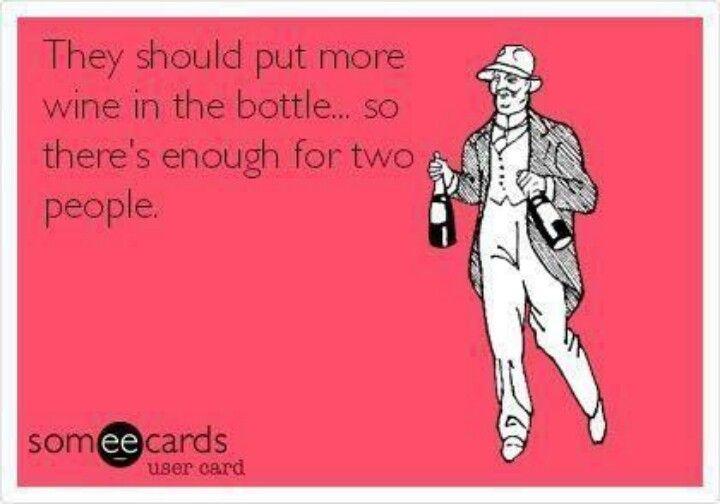 Because I love alcohol.