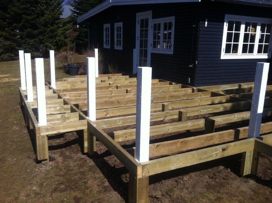 konstruktion træterrasse - Google-søgning   Projekter, jeg vil prøve   Pinterest   Terrasser ...