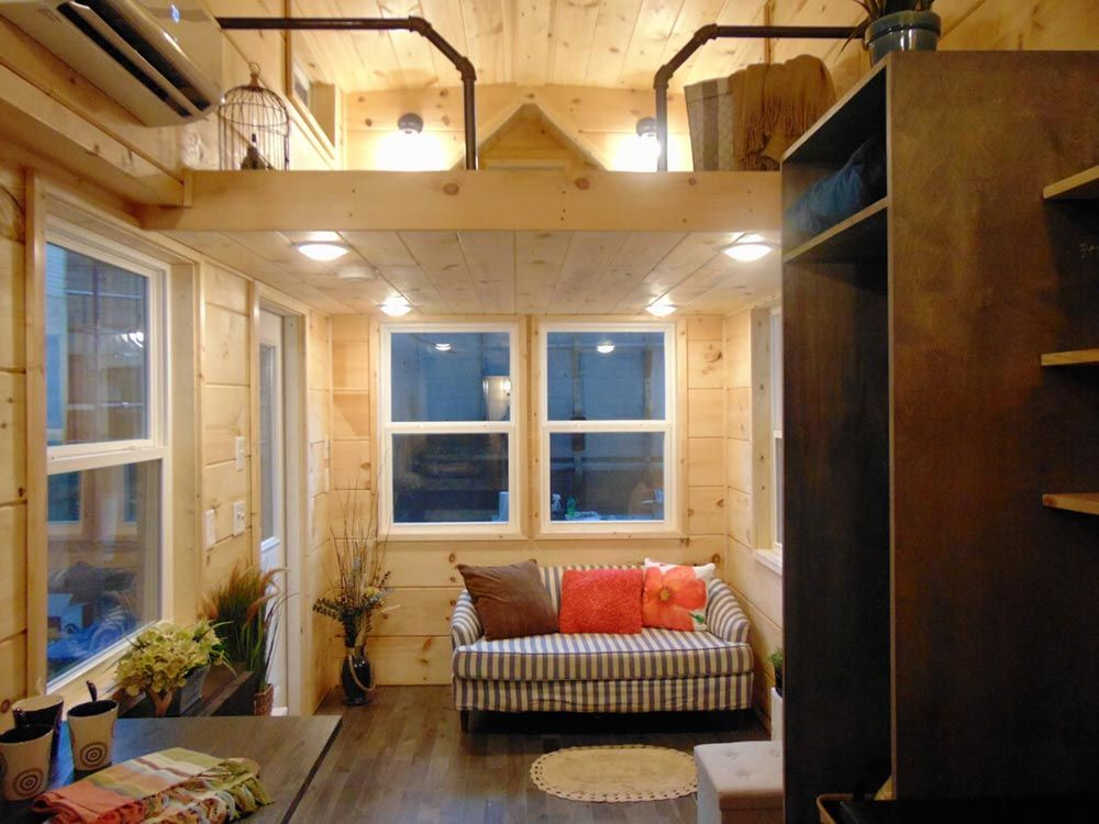 Living room rookwood cottage by incredible tiny homes