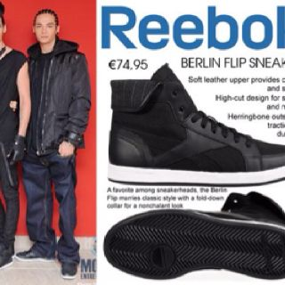 They both wear the same Reeboks sneakers
