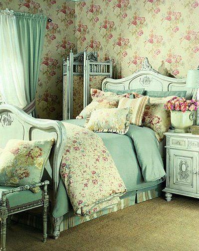 Romantisches Schlafzimmer ♥ stylefruits inspiration #ShabbyChic - schlafzimmer romantisch