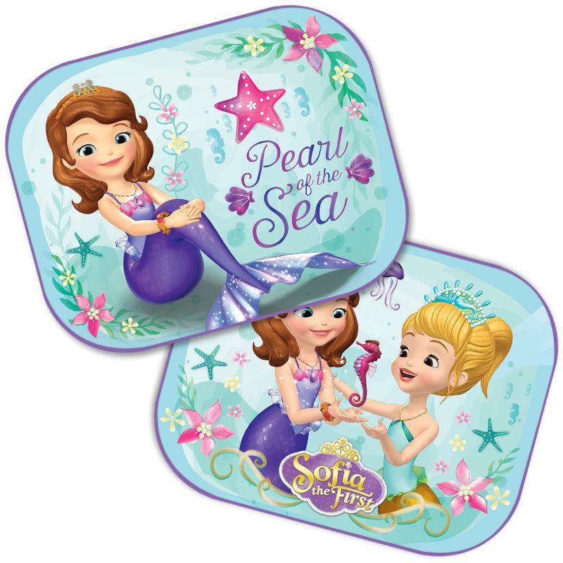 2x Car Sun Shades UV Children Baby Kids Disney Minnie Mouse