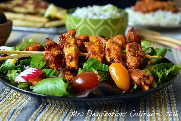 Chicken Tikka Massala Kebab