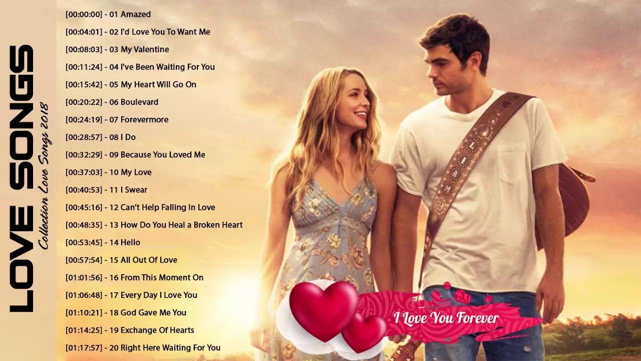 Best love songs playlist
