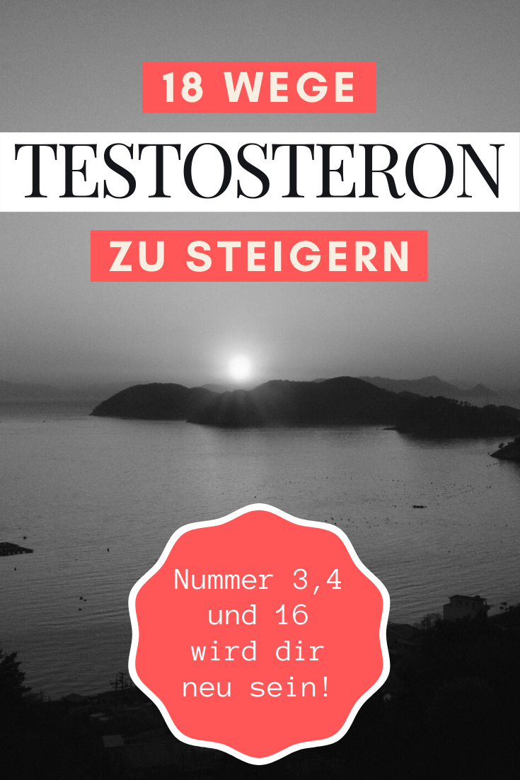 testosteron steigern mann
