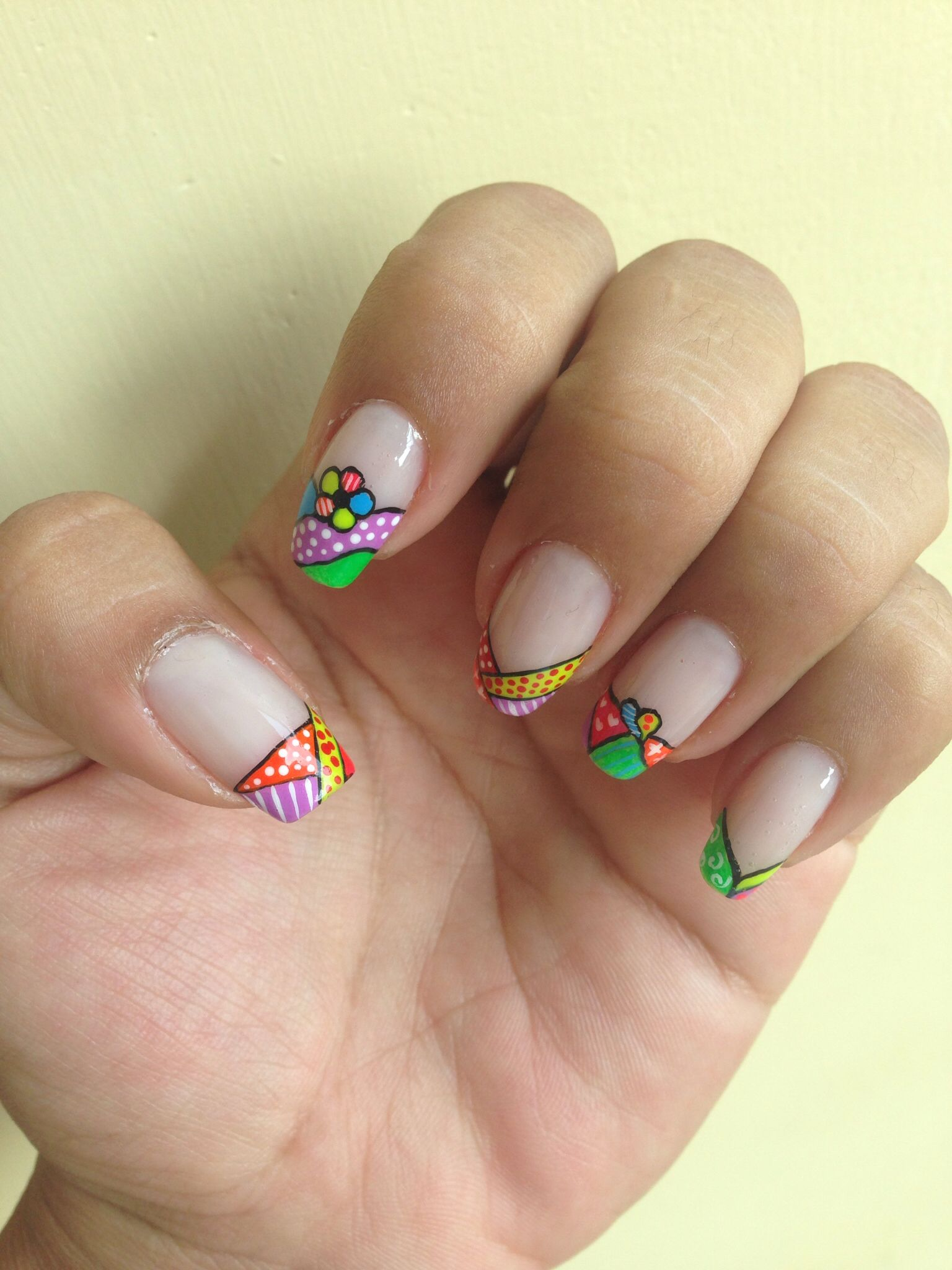 Britto | DECORACION UÑAS | Pinterest | Britto, Diseños de uñas y ...