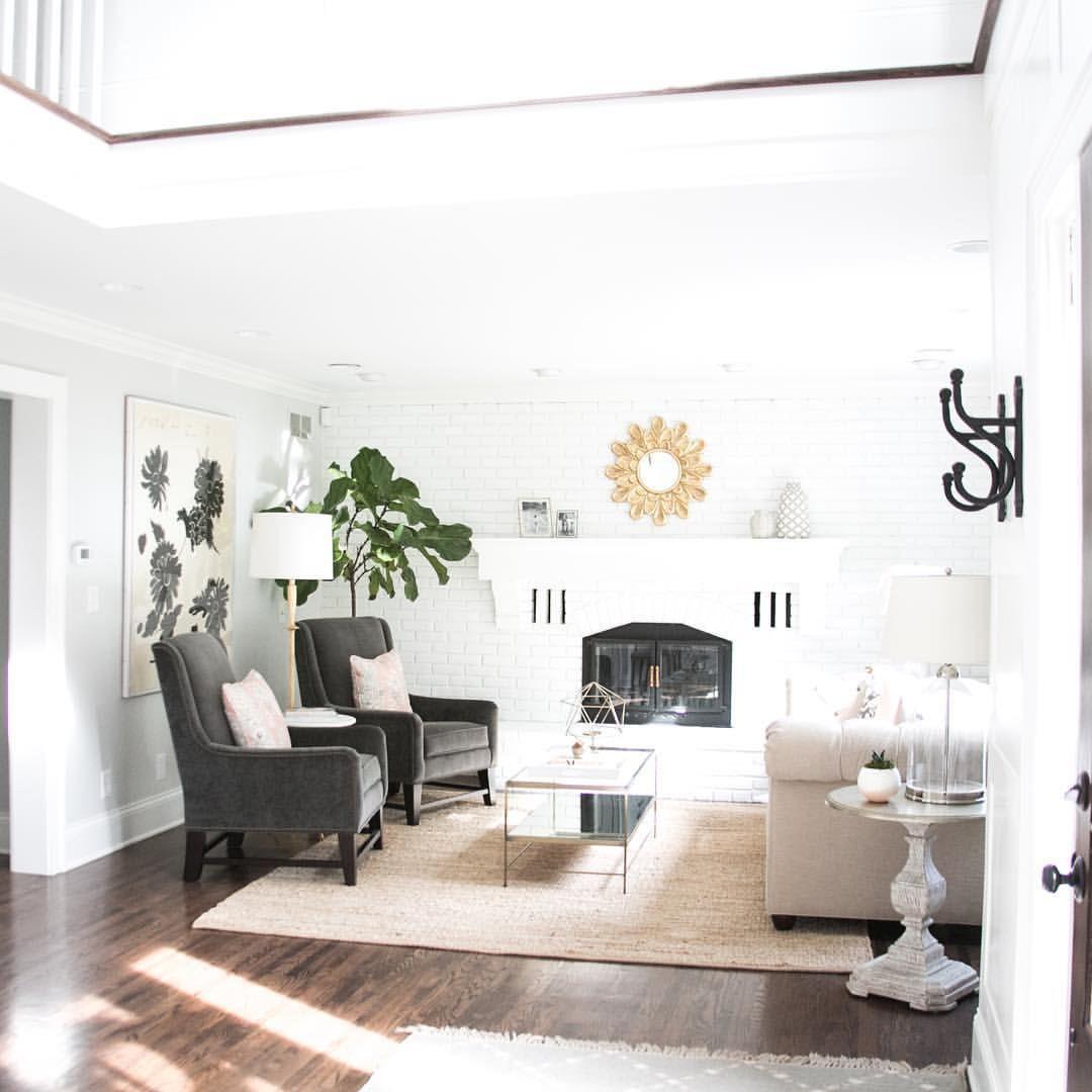 Beautiful classic living room. #BriaHammelInteriors #SDCustomHomes ...