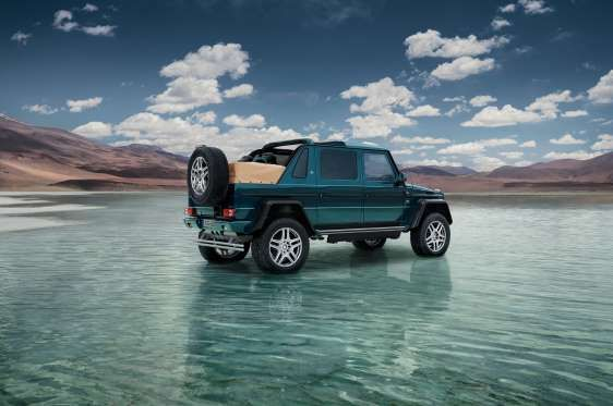 First Look Mercedes Maybach G650 Landaulet Http Buff Ly
