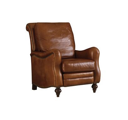 Recliner From The Henredon Leather Company Collection By