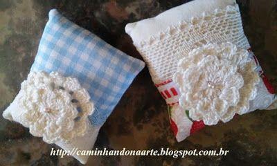 Retalhos de Algodão: Crochê