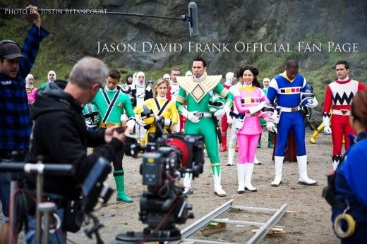 The Power Rangers Are Back! A Chat With Jason David Frank