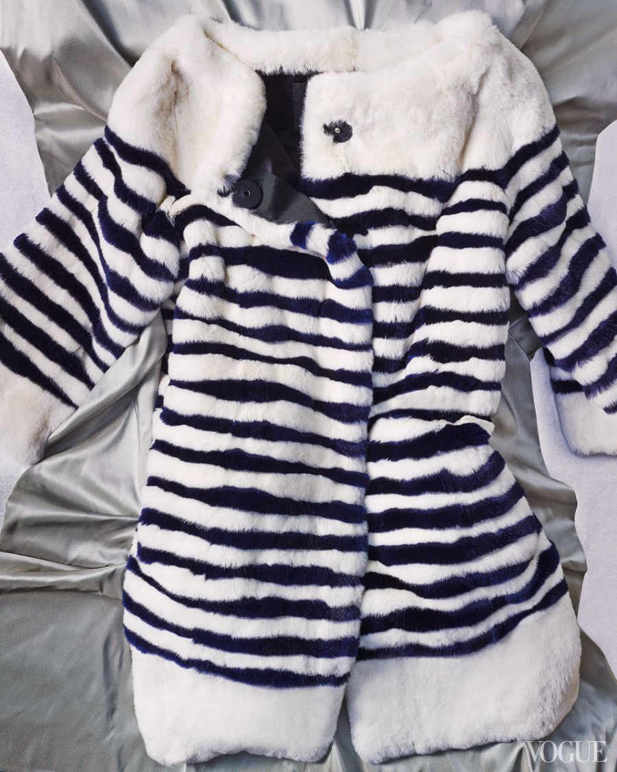 Striped Marc Jacobs coat